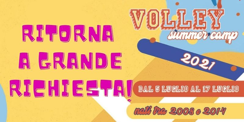 Banner Volley Summer Camp