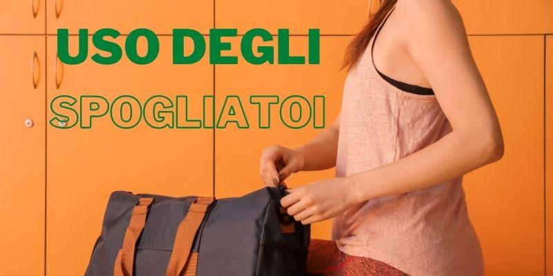 Banner uso spogliatoi