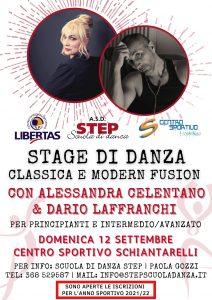 Stage di Danza Alessandra Celentano e Dario Laffranchi