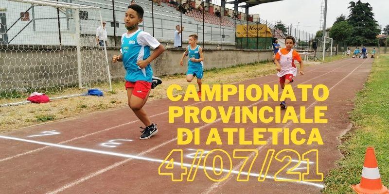 Banner Campionato Provinciale di Atletica