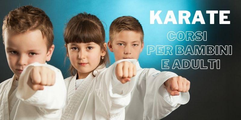 Karate Do corsi per bambini e adulti