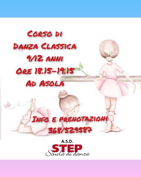 Step corso 2021 danza classica 9-12