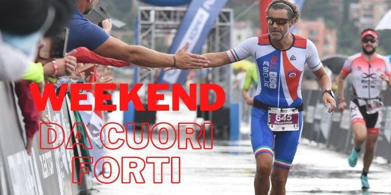 Triathlon, un weekend da cuori forti