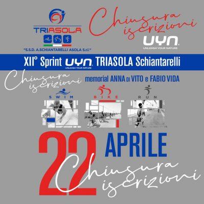 Chiusura iscrizioni Triathlon