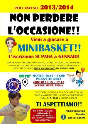 Promo Minibasket 2013-14